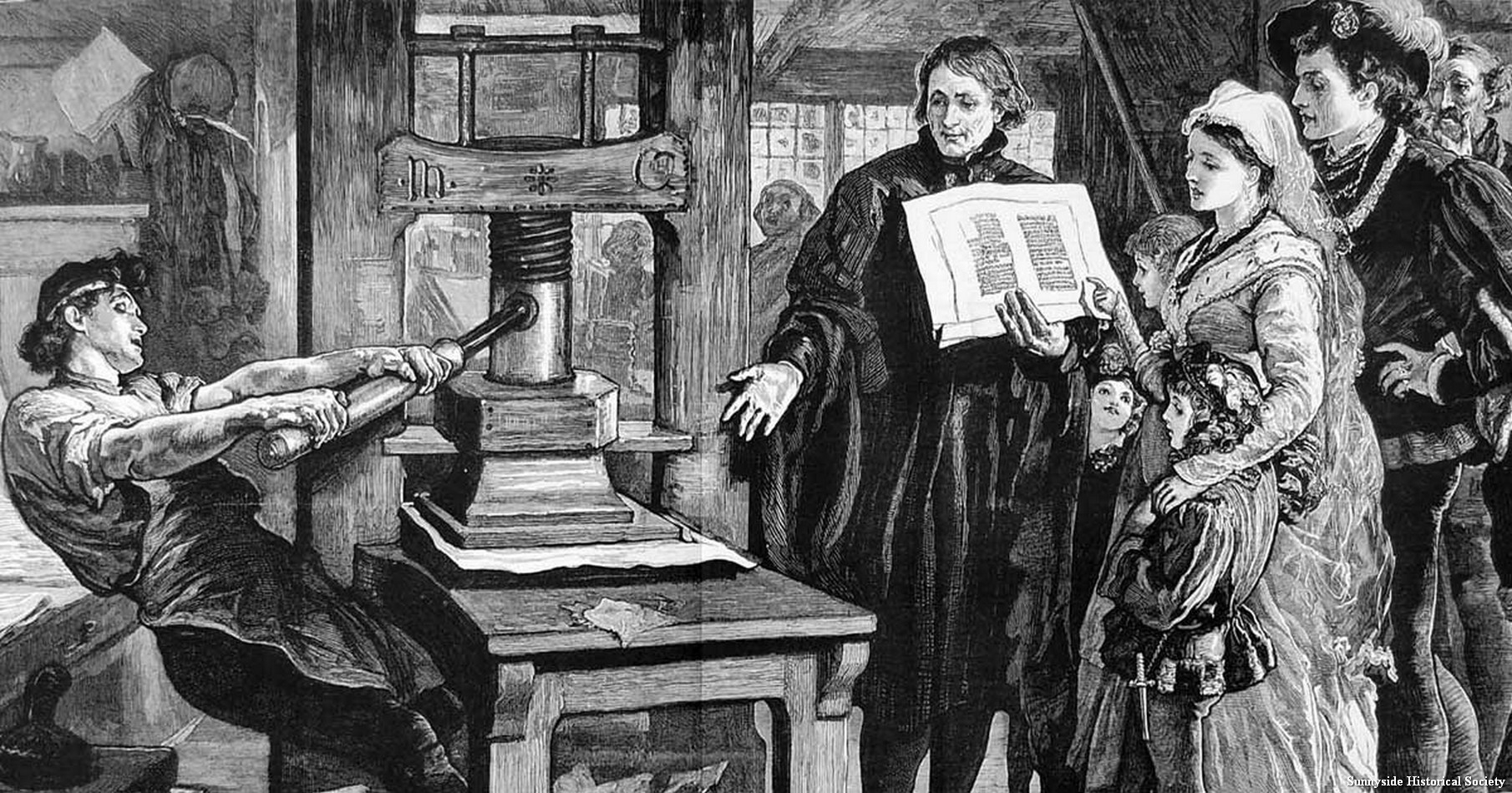 the history of the printing press by johannes gutenberg In this lesson, we will learn about johannes gutenberg, the inventor of the mechanical moving-type printing press we will explore his life and.