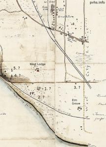 Map 1868: Rural Estates to Village 1860-1880