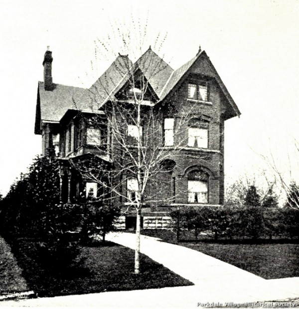 1881 Glen Zephyr- residence of Mr. Sturgeon Stewart Dowling Ave Tor Old and New pub 1881 - Copy2_tn