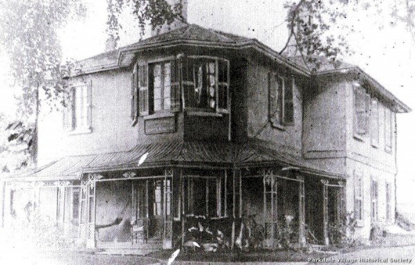 1887-8 John Howard's 'Sunnyside' on the site of St. Joseph's Health Centre_tn