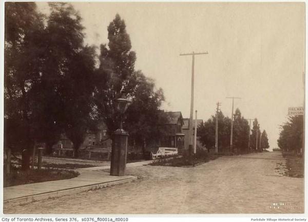 1890 c Dunn s to lake gas light lost toronto _tn
