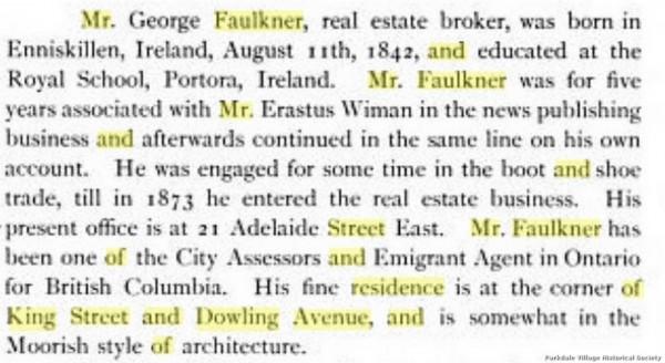 1890 x geo faulkner 3 page Toronto Old and New pub 1881 page 158jpg_tn