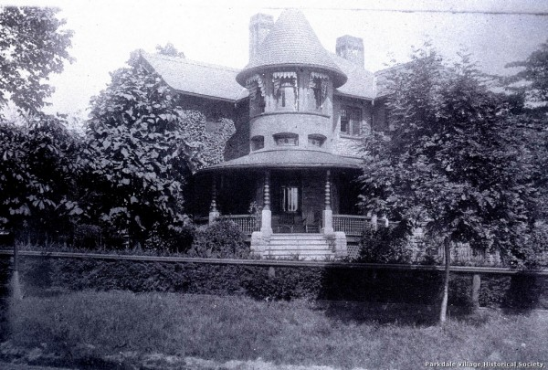 1897 Magann, George Plunkett, hs Laburnam A s e cor Dowling A near Lakeshore W To Old a New_tn