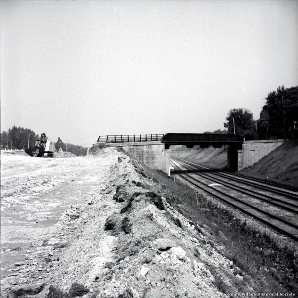 1957 Gardiner Expressway, looking w. from e. of Dowling Ave., during..._tn