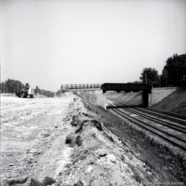 1957 Gardiner Expressway, looking w. from e. of Dowling Ave_tn