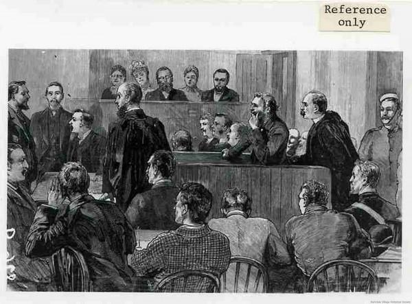 1885 x Louis Riel trial (0)