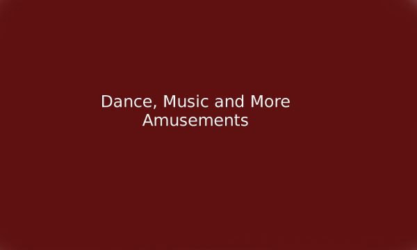 1930 c c Dance, Music and More Amusements