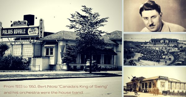 1933 Bert Niosi to 1950 house band at the Palais Royale. Canada's King of Swing. Diane Beasley