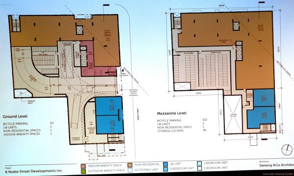 6 Noble St Proposal (18) Ground floor area with dance school area shown. Once sold the buyer could rais the rent.